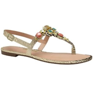 SANDALIA FEMININO DAKOTA Z1362 OURO LIGHT