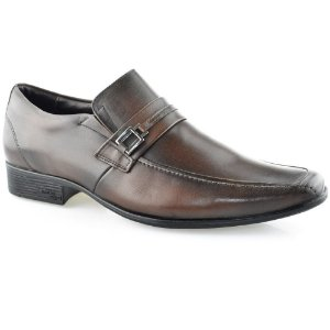 SAPATO MASCULINO JOTA PE 17009 DARK BROWN