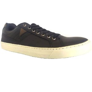 SAPATENIS MASCULINO WEST SHOES 76000 PRETO/GRAFITE