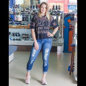 CALCA FEMININO MACROSS 58962 COLORIDO