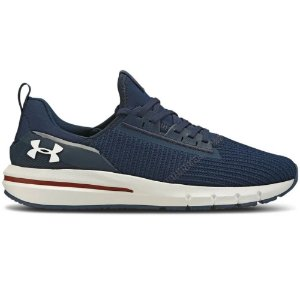 TENIS MASCULINO UNDER ARMOUR CHARGED CRUIZE AZUL MAR/BCO/BCO