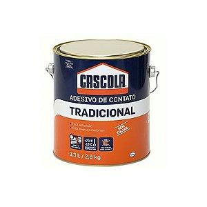 COLA CONTATO TRADICIONAL 2,8 KG - CASCOLA