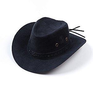 Chapéu Cowboy Camurça