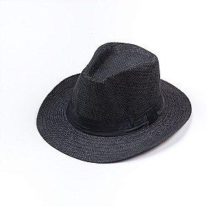Chapéu Estilo Panamá Faixa Cetim