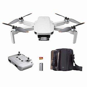 Drone DJI Mavic Mini 2 Kit com 2 Baterias Bolsa e Microsd
