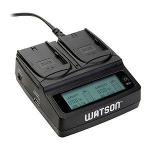 Carregador Watson Duo LCD LP-E6 / LP-E6N