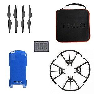 Kit DJI Tello - Helice + Maleta + Hub + Protetor + Snap Case