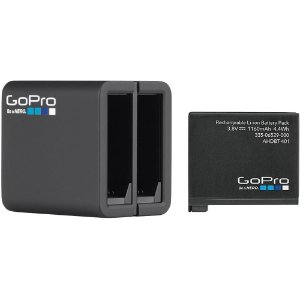 Carregador Duplo GoPro Hero 5, 6 e 7 Black