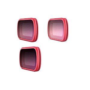 Filtro Pgytech para Osmo Pocket Pro - 3 peças, CPL ND8, 16