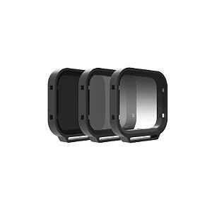 Filtro ND p/ Go 5 / 6 series 5 filtros - PGYTECH