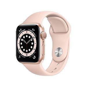 Apple Watch Series 6 GPS 40mm Alum Gold  Pulseira Areia Rosa