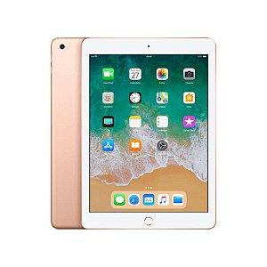 "iPad 128GB WiFi 9.7"" Dourado - 2018 MRJP2LL"