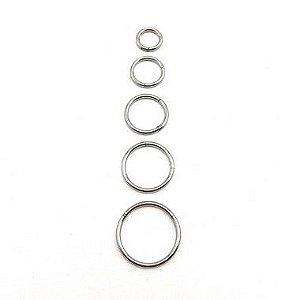 Piercing/Aço/Argola/Segmentada/Clicker/ 0.8mm