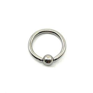 Piercing/Aço/Captive/Argola/1.2mm