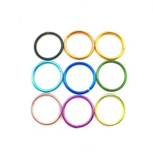 Piercing - Argola Nariz - Alumínio -Espessura 0.8 mm