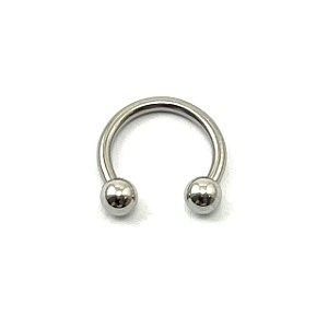 Piercing/Aço/Ferradura/1.2 mm