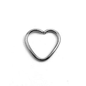 Piercing - Coracão - Aço Cirúrgico - Espessura 1.2 mm