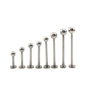 Piercing - Labret - Aço Cirúrgico - Espessura 1.2 mm