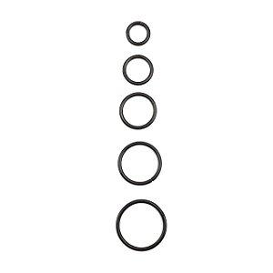Piercing - Argola - Segmentada -  Articulada - Clicker - Aço Cirúrgico - Anodizado - Preto - Espessura 1.2 mm