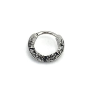 Piercing/Aço/Argola/Segmentada/Clicker/Pena/Helix/1.2*10 mm