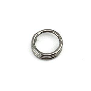 Piercing - Argola - Segmentada -  Articulada - Clicker - Hélix - Titânio - Espessura 1.2 mm