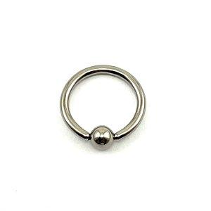 Piercing Titânio - Argola - Captive  - Espessura 1.2 mm