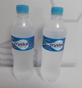 Aguá s/ gás Crystal 500ml