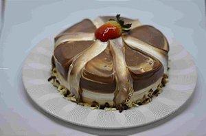 Bolo Torta Mesclada c/ Doce de Leite