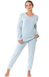 Pijama Laura Liso Fechado