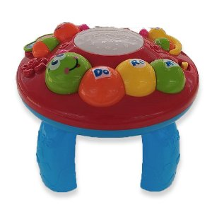 Mesinha de Atividades Vermelha - Bbr Toys