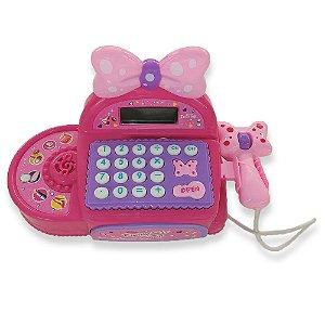 Caixa Registradora Mini Girls Star - Bbr Toys
