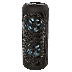 Caixa de Som Portátil 16W c/ Bluetooth V5.0 Preto - Alfacell