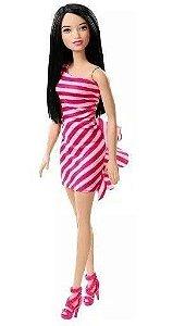 Boneca Barbie Glitter Barbie Morena Mattel