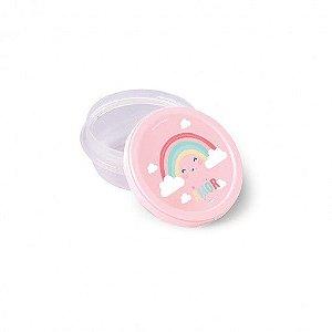 Pote de Plastico Redondo Baby Arco Iris - Plasutil