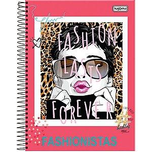 Caderno Universitario Fashionista 1M 96FLS - Kajoma