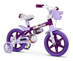 Bicicleta Infantil Aro 12 Puppy - Selim em Pu - Nathor