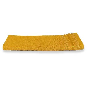 Toalha de Rosto Amarela Prata Dante 41cm x 70cm - Santista