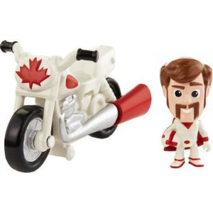 Mini Boneco com Veículo Toy Story 4 Duke Caboom - Mattel
