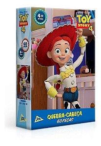 Quebra-Cabeça - 60 Peças - Disney - Toy Story 4 - Dercy