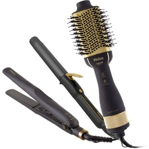 Kit PKT3200 Beauty Black Philco  3 em 1 - Bivolt