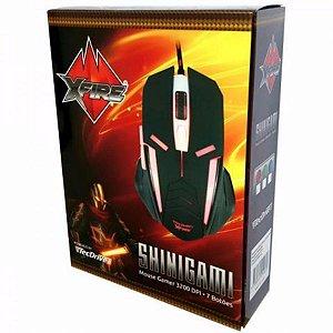 Mouse Gamer Iluminado Xfire Shinigami 3200 Dpi 7 Botões