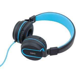 Fone de Ouvido - Headset Neon - HS106 - Preto e Azul - OEX