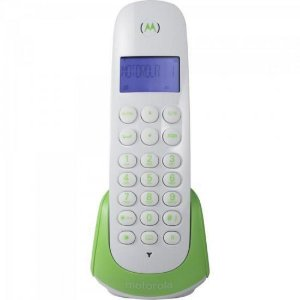 Telefone s/fio DECT ID MOTO700G Branco com Verde MOTOROLA