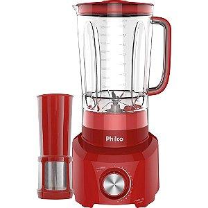 Liquidificador Vermelho Plq1212 12 Velocidade 127V - Philco