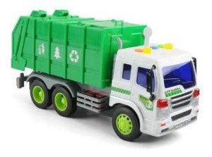 Veiculo Reciclagem Verde - Bbr Toys