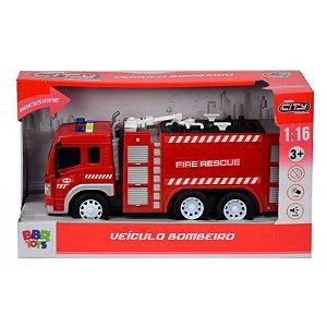 Caminhão de Construção com Luz e Som BBR Toys R3037