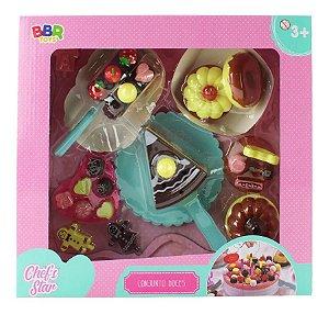 Conjunto Doces Chef's Star - BBR Toys