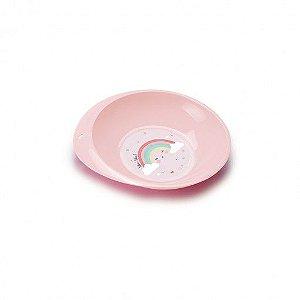 Prato de Plástico 750 ml Arco Íris Plasutil