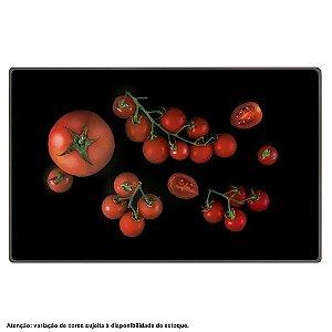 Tábua de Vidro Temperado (Tomate) 30x20 cm Mor