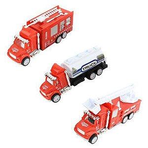 Conjunto de Veiculos Emergência - Bbr Toys